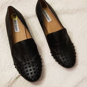 Steve Madden Jeweled toe Size 9 Loafers